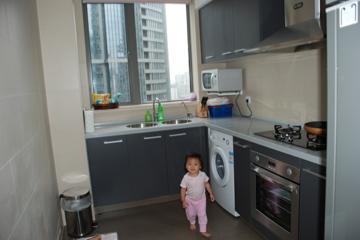 Sam in the Kitchen